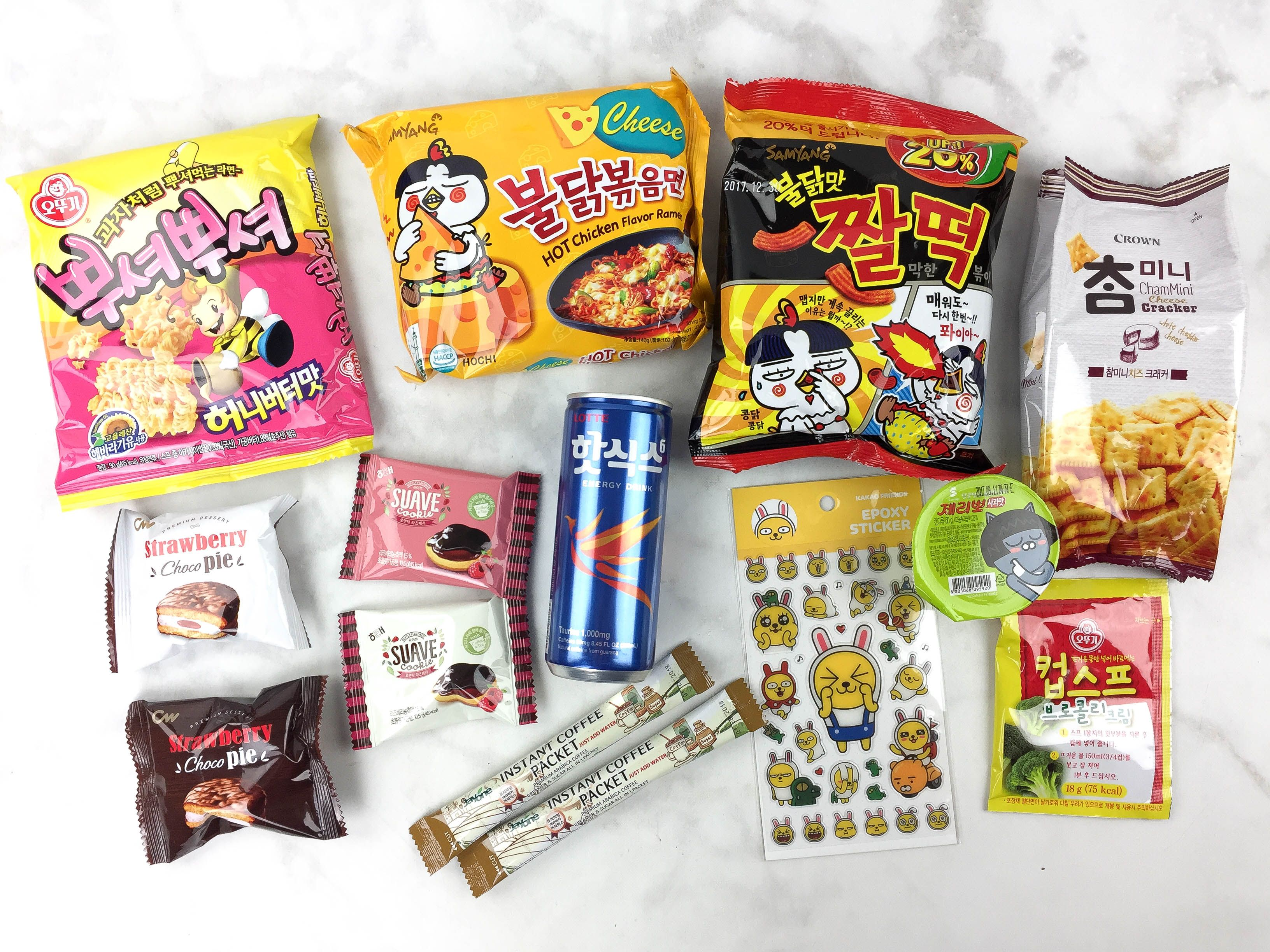 Snack Fever March 2017 theme was Cause There Ain't No Mountain High Enough! See all the items in our Korean snack subscription box in our review!   March 2017 Snack Fever Subscription Box Review + Coupon →  https://hellosubscription.com/2017/04/march-2017-snack-fever-subscription-box-review-coupon/ #SnackFever  #subscriptionbox