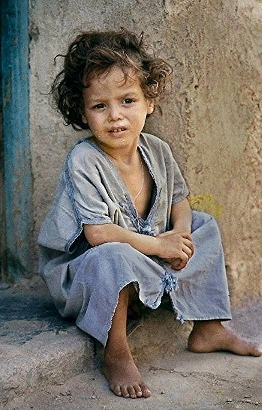 Bou Saada M Sila Argelia C Jean D Hugues Poverty Children Bless The Child People Of The World