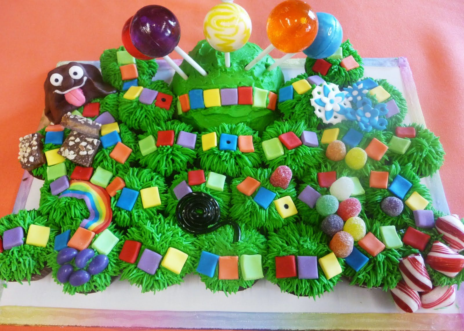 candyland cupcakes | Pure Delights Baking Co.: Candyland Game Board ...