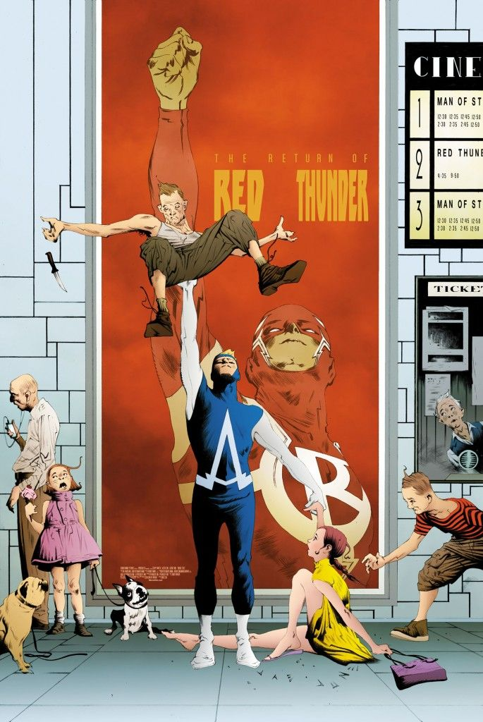 Animal Man #21 cover by Jae Lee. Check out the best covers of May 2013.