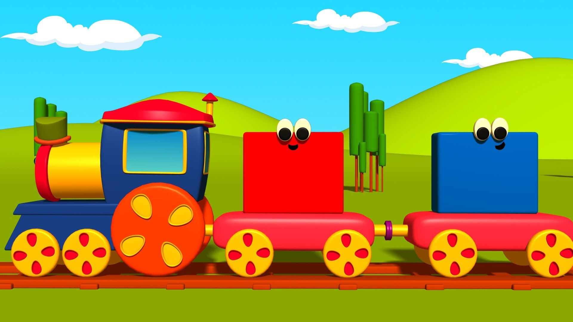What All Colors Is Bob The Train Made Up Of There S Blue There S