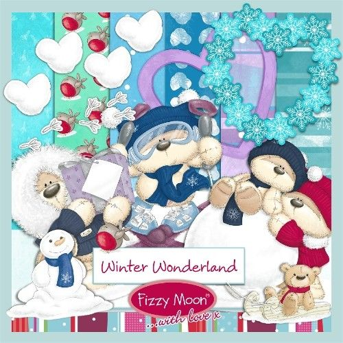 Fizzy Moon ☃️ Winter Wonderland ☃️