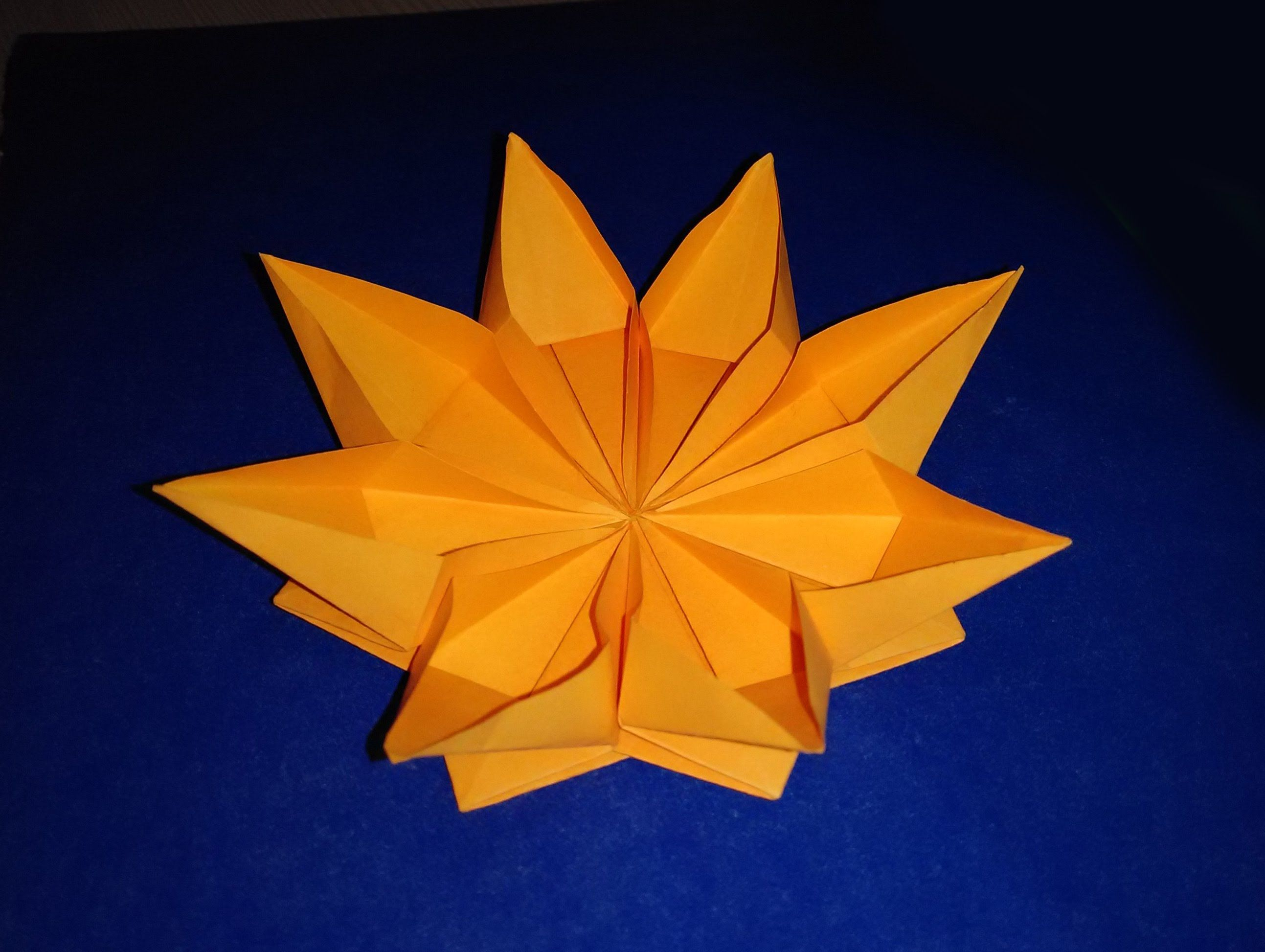 Easy paper flower origami flower ideas for gift decor easy diy gift how to make an easy origami flower kusudama for kids easy and rich paper flower mightylinksfo Choice Image