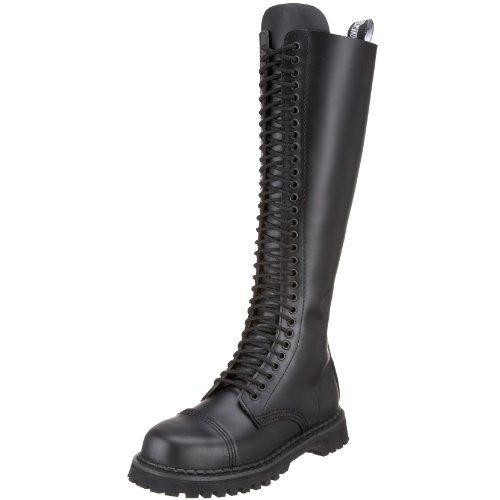 Demonia GOTHIKA-209 Damen Stiefel, Schwarz (Blk Vegan Leather), EU 39 (UK 6) (US 9)