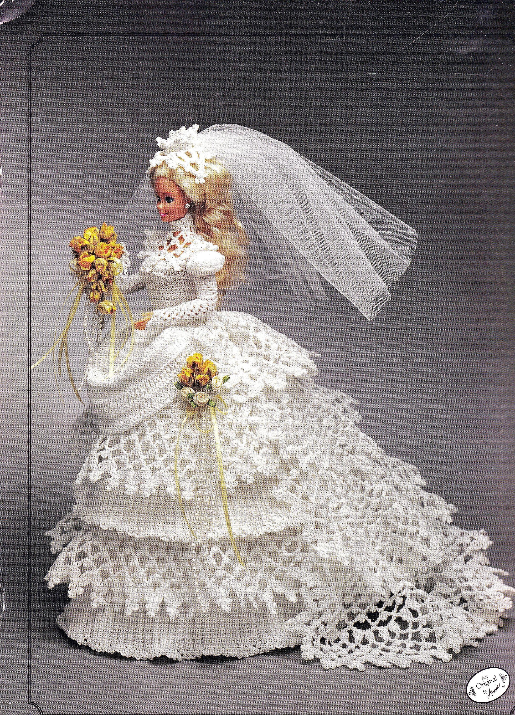 Annieus attic bride doll gown for inch fashion dolls