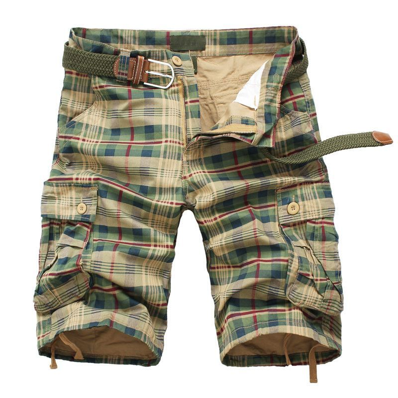 Men's Shorts, cotton Summer Army cargo Sports Overall