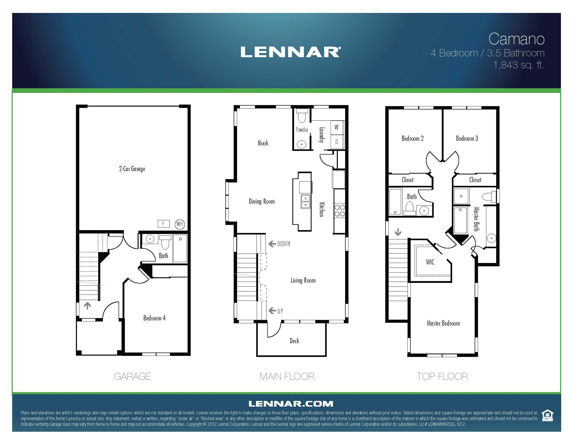 The camano lennar seattle floorplans pinterest for New homes seattle washington area