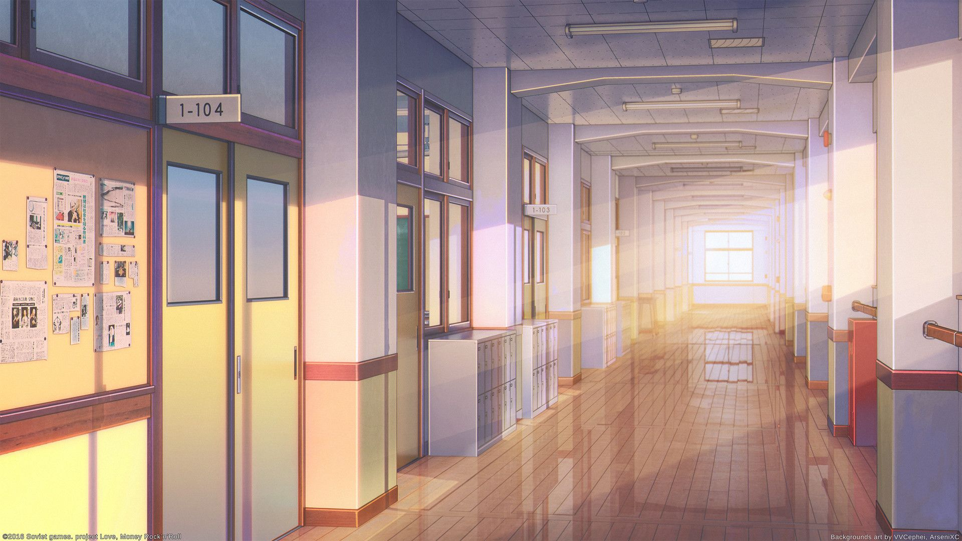ArtStation School, Arseniy Chebynkin Cenário anime
