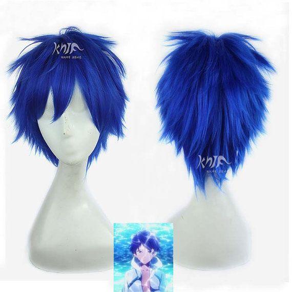 Ryugazaki Rei cosplay wig uk Free