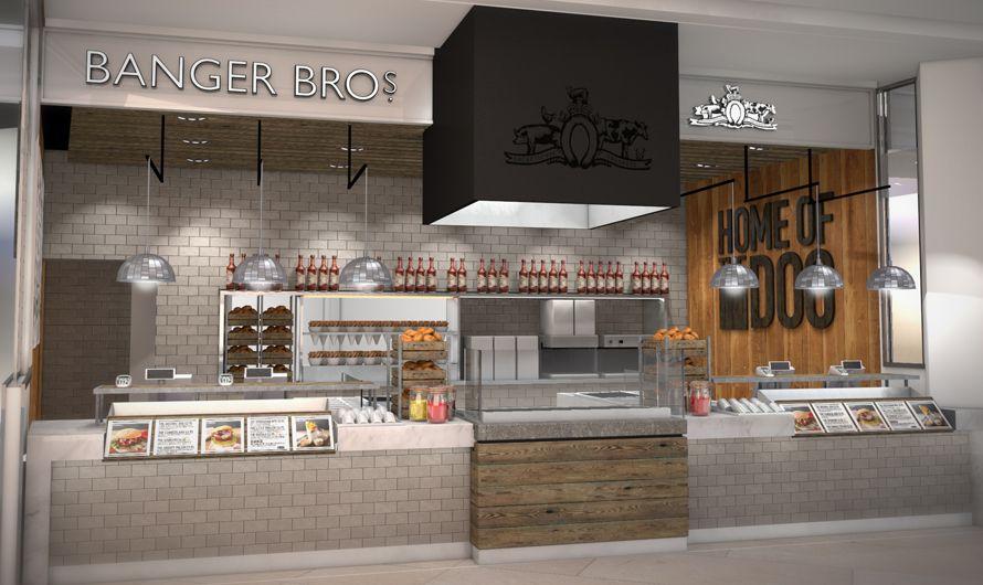 Banger Bros Food Outlet Restaurant Sausage Sausages Eating