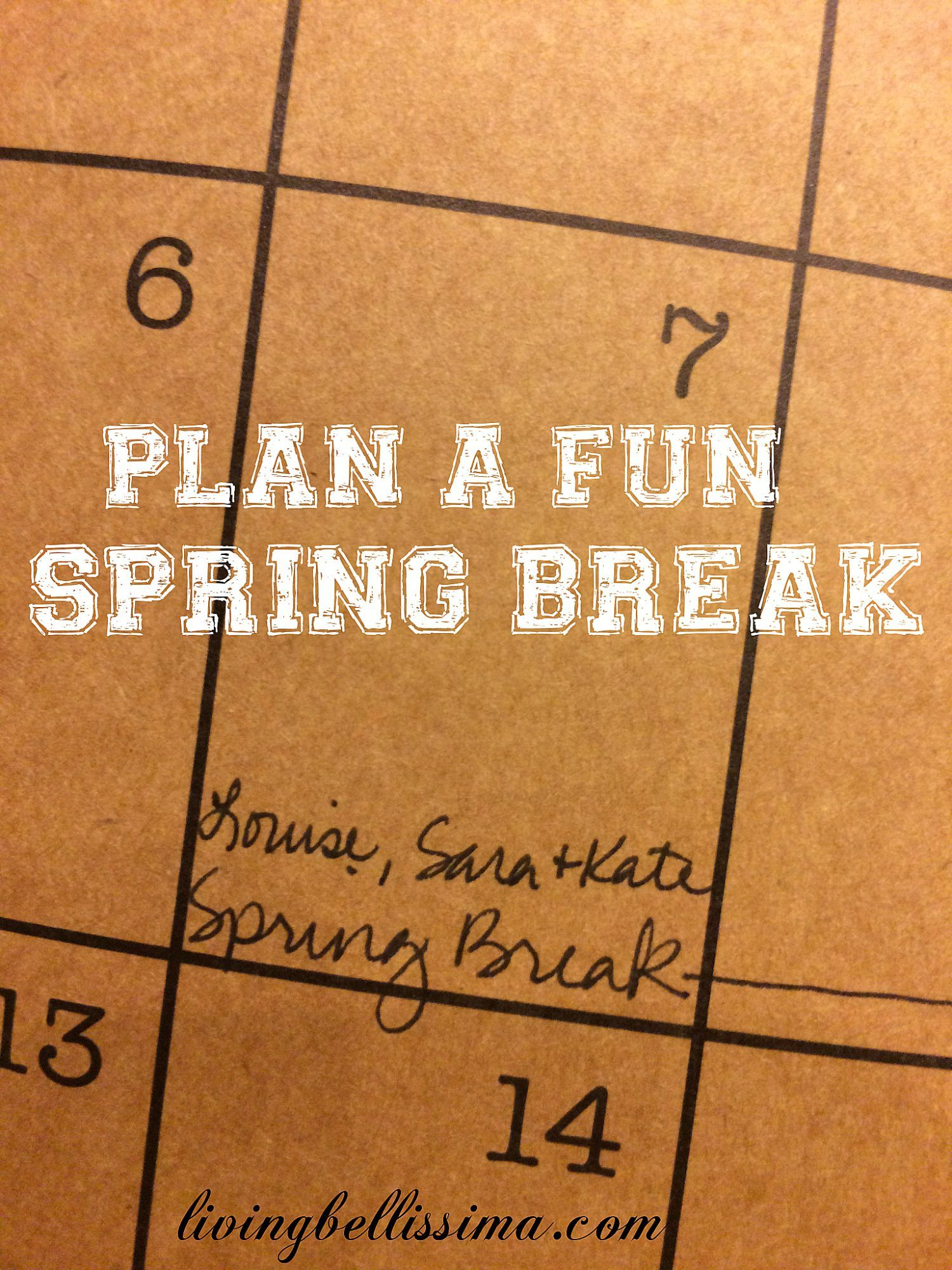 When spring break begins 19