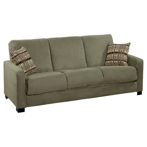 Thora Convert-a-Couch Futon Sofa Sleeper- Handy Living  Target