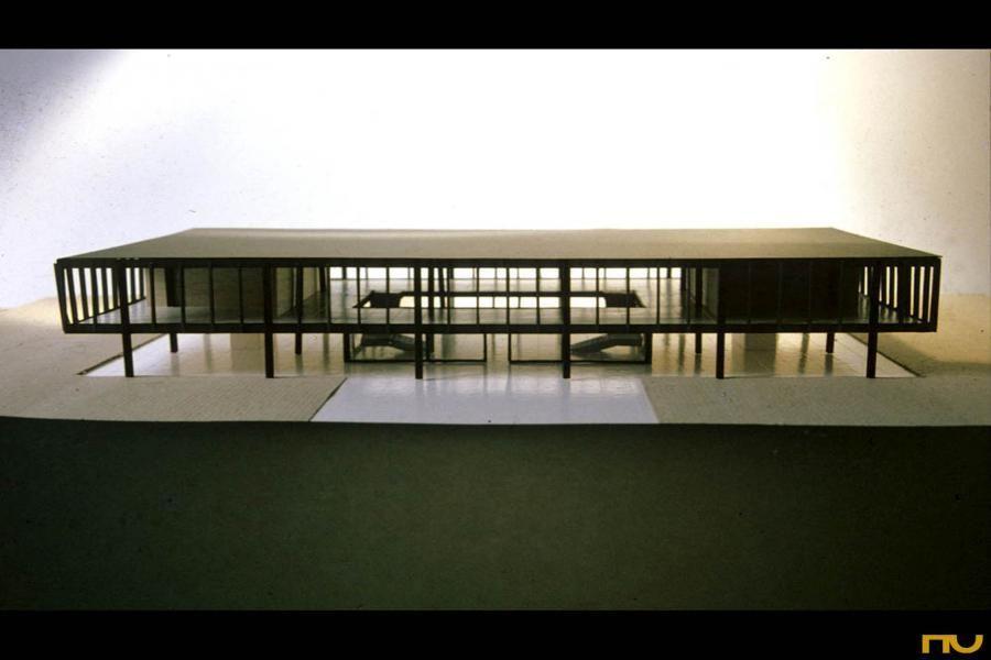 Bacardi Office Mexico City 1961 Mies Van Der Rohe Mies Van Der Rohe Modern Architecture Architecture