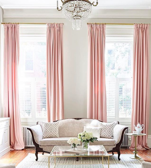 Pin by Jan Matha on Pretty in Pink | Pinterest | Pink curtains ...