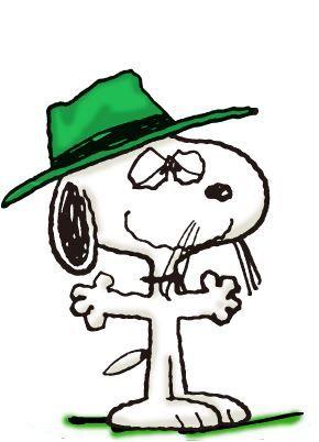 スパイク(Spike) ヒゲと帽子が特徴。 孤独を愛するビーグル