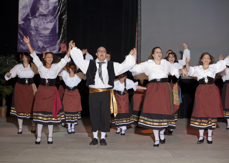 Dancing At The Holiday Folk Fair International With