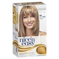 Clairol Nice & Easy 102 Natural Light Ash Blonde #lightashblonde Clairol Nice & Easy 102 Natural Light Ash Blonde #naturalashblonde
