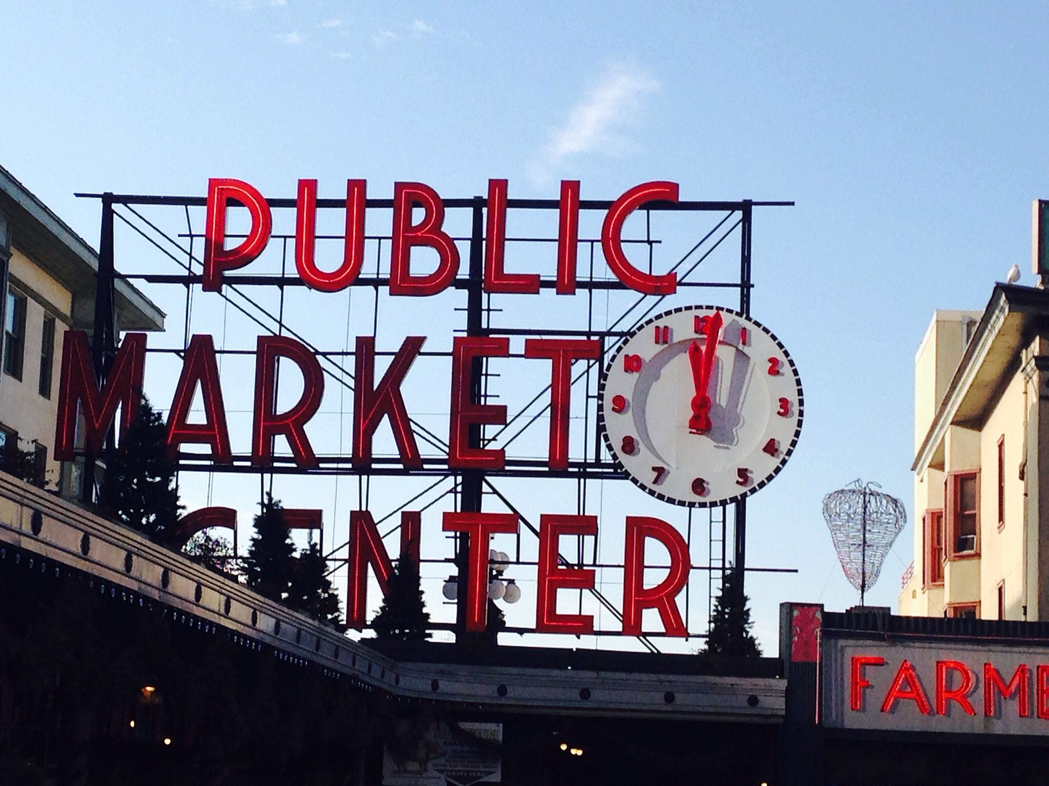 Crisp winter day at Pike Place