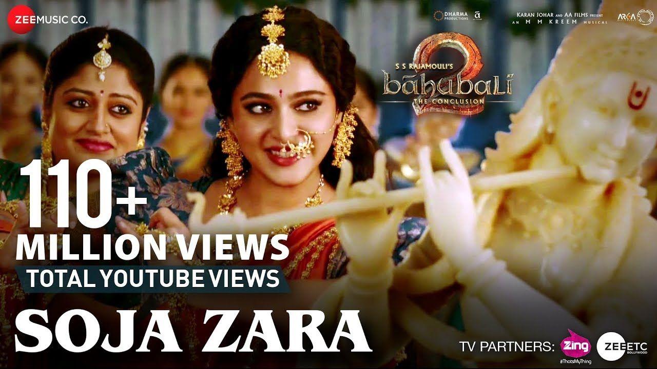 Soja Zara Baahubali 2 The Conclusion Anushka Shetty Prabhas Satyaraj Madhushree M M Kreem Youtube
