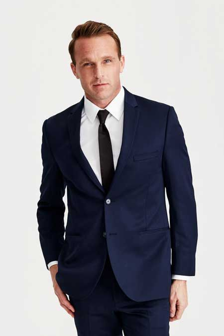 Blue Wedding Suit | Michael Kors Slim Fit Suit | Suits to Rent ...