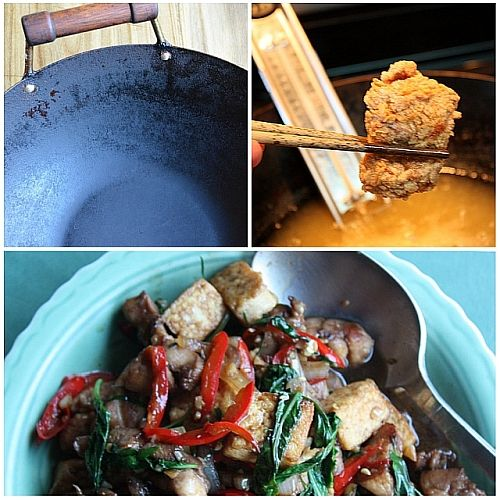 Want to have a nonstick wok? You gotta use it often! Religiously. Just posted 9 recipes to spur you on. What's your go-to wok recipe?