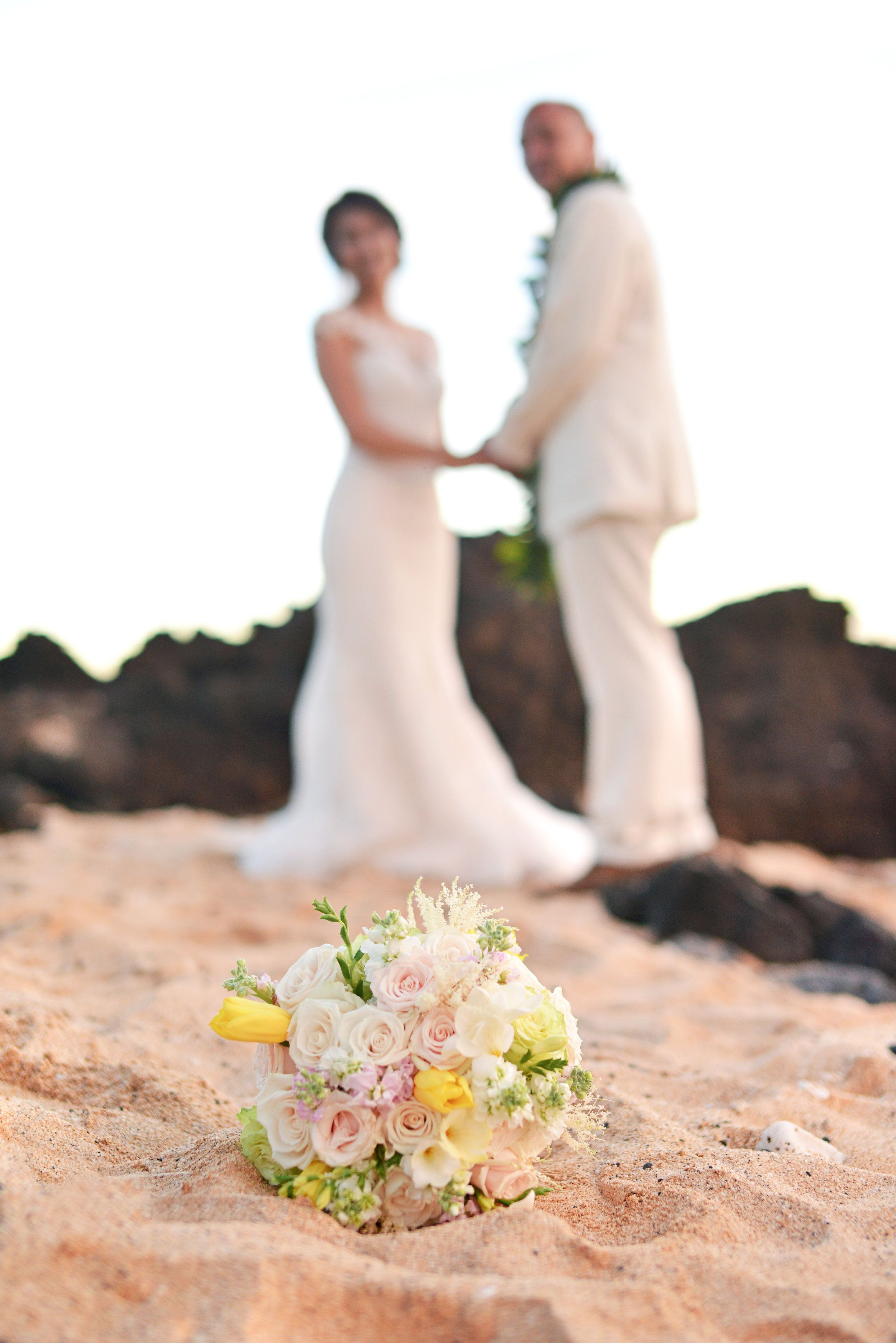 Wedding beach house  Beautiful blush October wedding at the White Orchid Beach House in