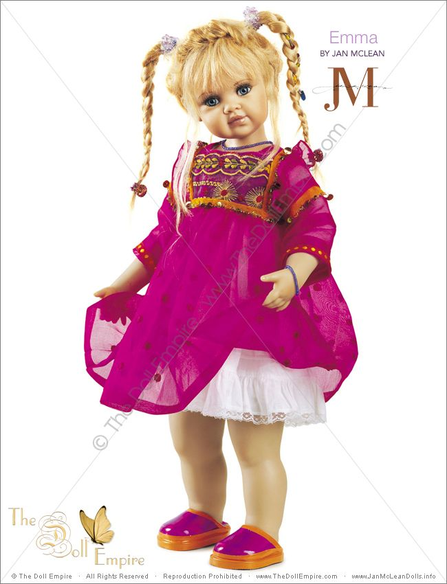 Imagen de http://www.janmcleandolls.info/images/artist-dolls/essence-collection/emma-jan-mclean-essence-collection-artist-doll01.jpg.