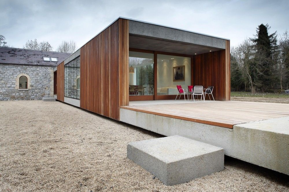Ballymahon / ODOS Architects The Rest House Should Look A Little More Like  This