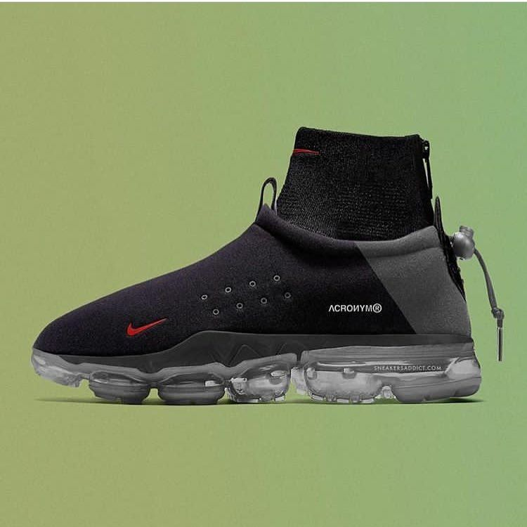 new style 1971a e3763 This Acronym x Nike Air VaporMax Flyknit Moc is ...