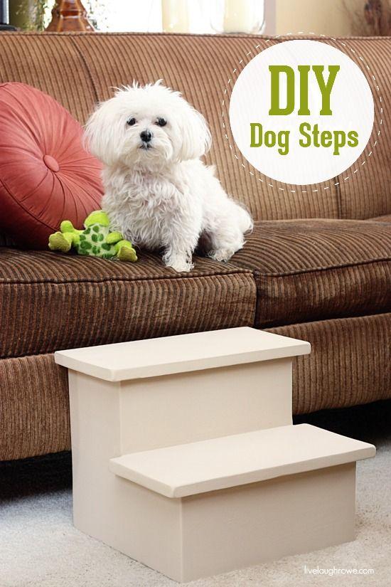 Diy Dog Steps Livelaughrowe Com Pet Diy Projects Diy Stuffed