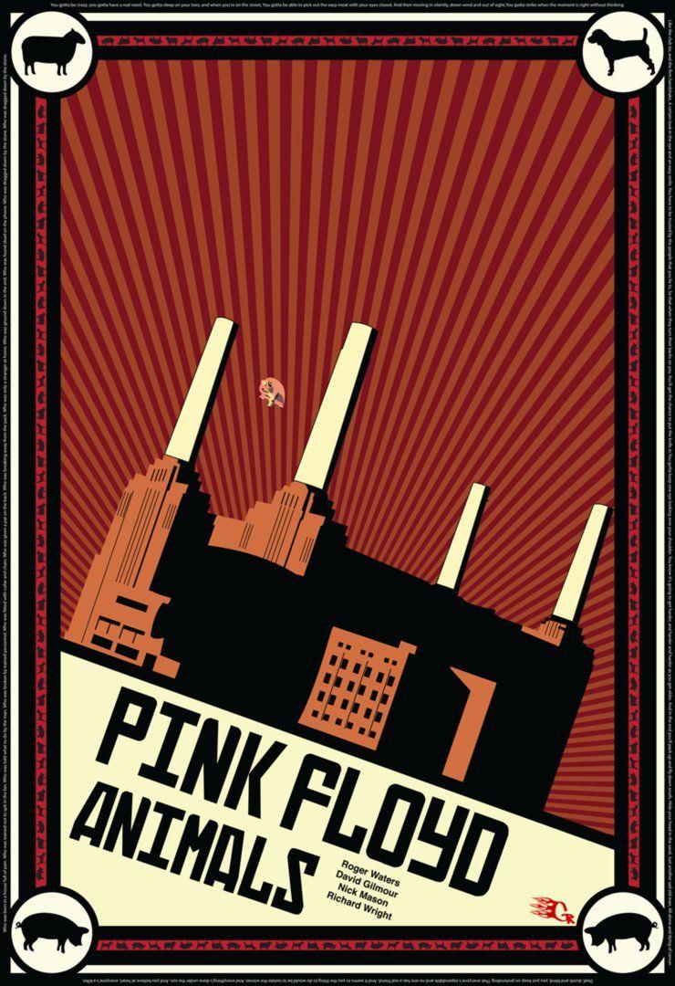 Pink floyd animals - Pink Floyd Animals Propaganda By Gaberios