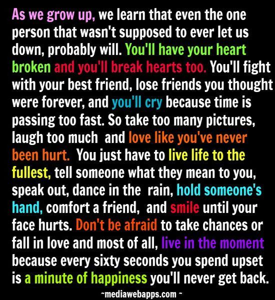 A Minute Of Happiness Friends Quotes Best Friend Quotes Words