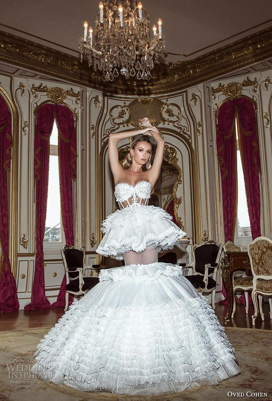Oved cohen wedding dresses in fashion in lingerie