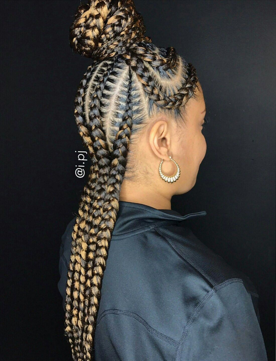 Whether Its Cornrows Box Braids Long Short Feed In Colorful
