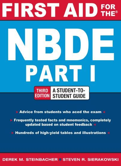 First Aid for the NBDE Part 1 3rd Edition PDF | medical