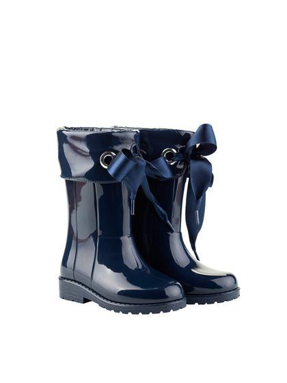 Charol Navy Campera Boot