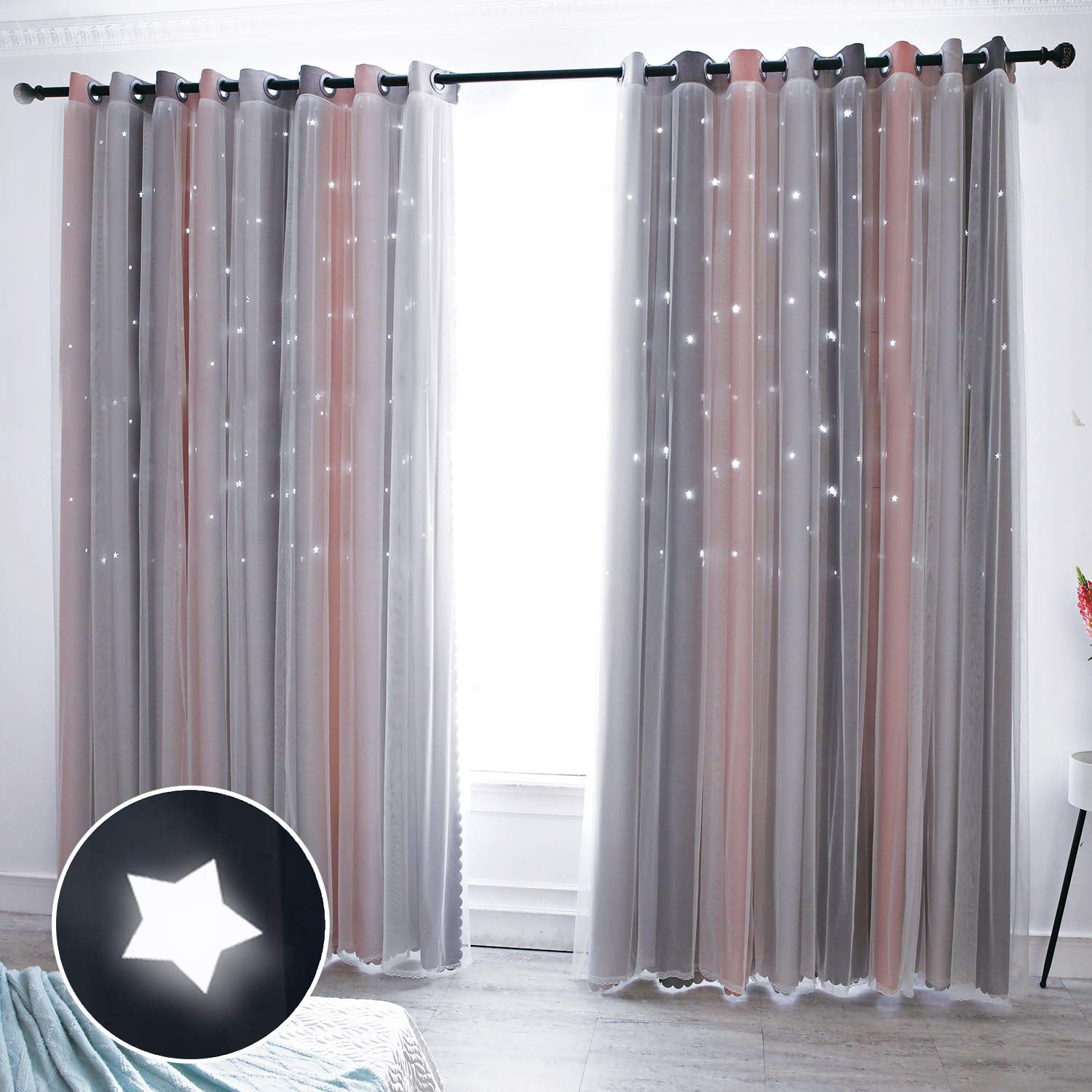 Pin On Pink Curtains