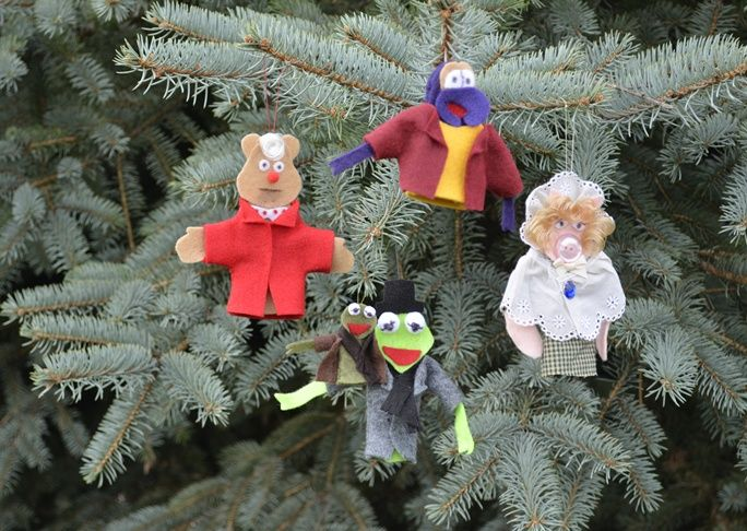Muppets Holiday Ornaments Diy Craft With Images Holiday