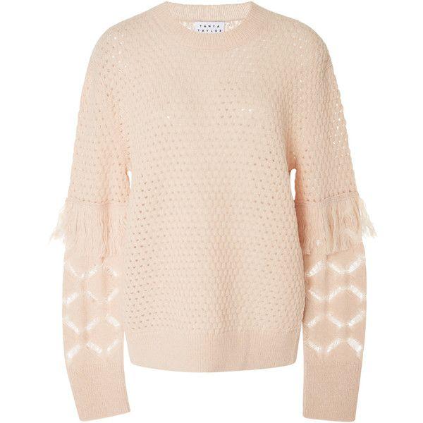 Tanya Taylor Naomi Fringe Sweater (10 300 UAH) ❤ liked on ...
