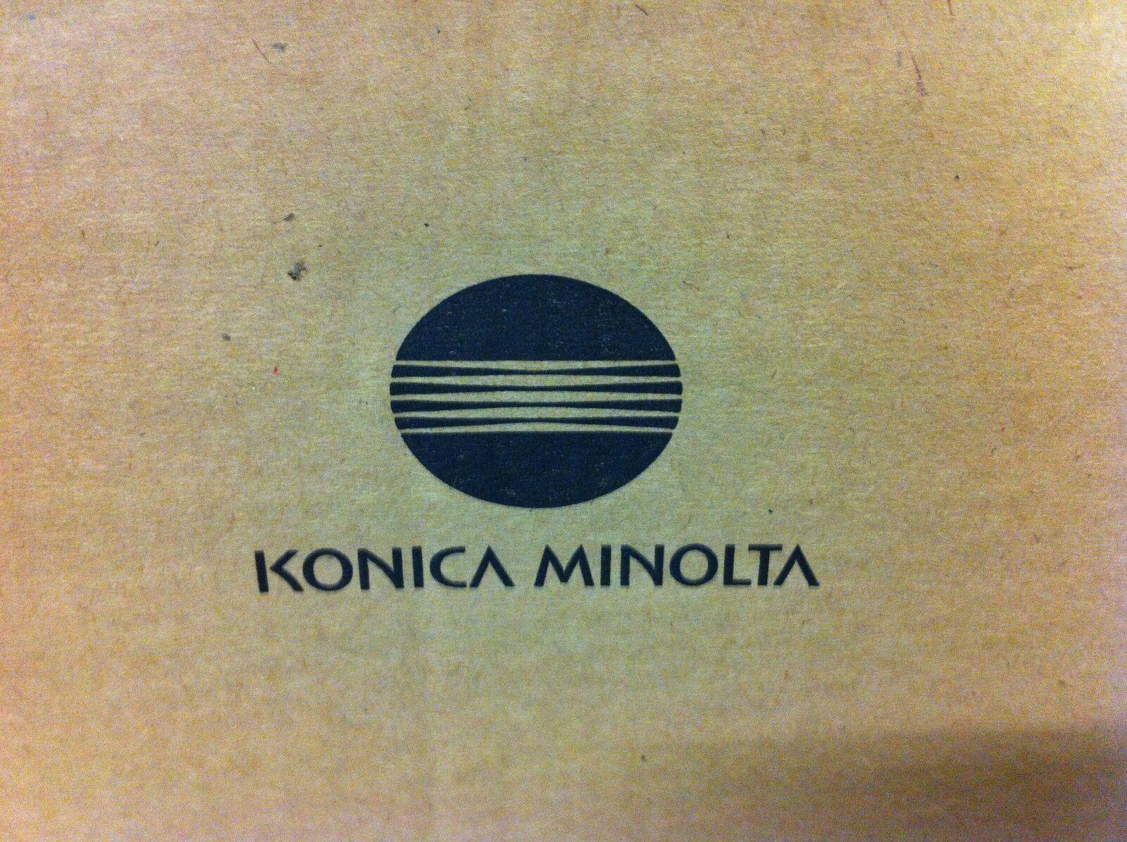 Marke: Konica | Herstellernummer: TC16 9967000465 1600F | Produktart: Original | Sie bieten auf eine neue original Konica Minolta TC16 9967000465 1600F Tonerkartusche schwarz A-Ware Original Konica Karton ist nicht geöffnet, nicht beklebt oder beschriftet,