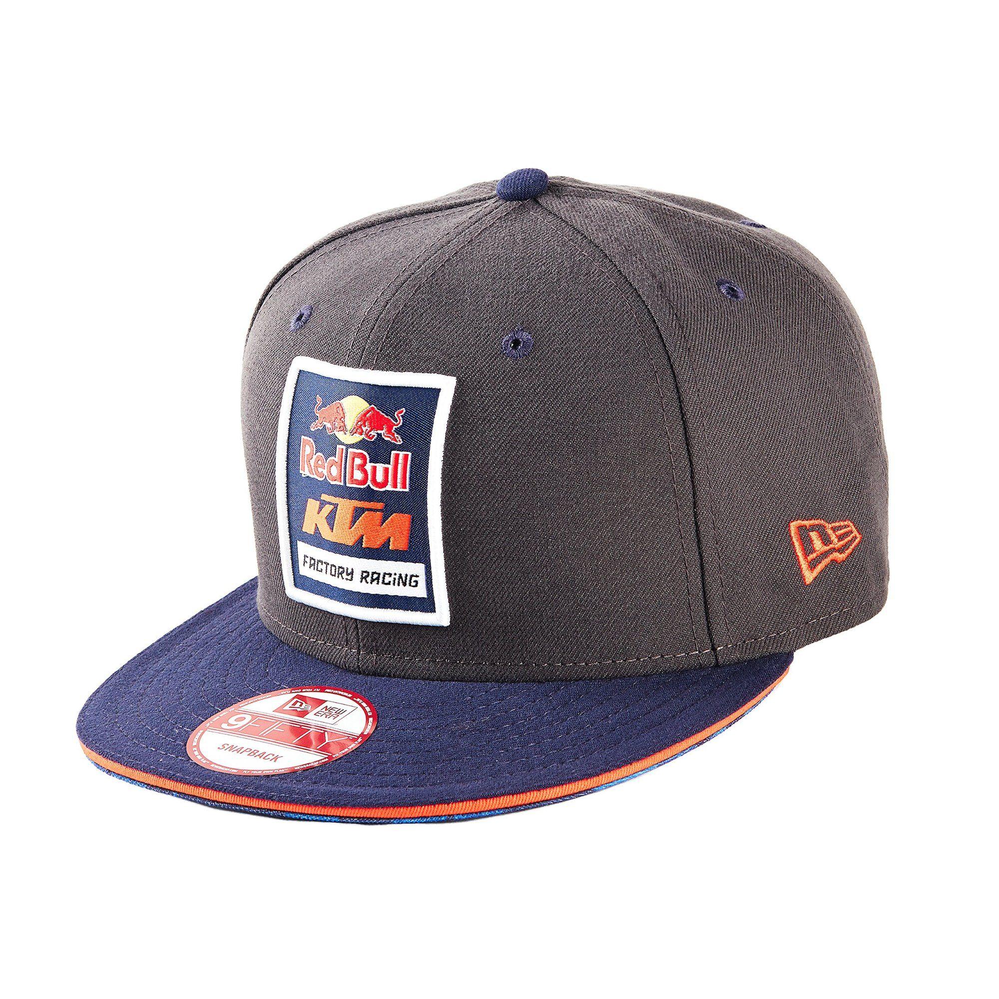 Red Bull KTM Factory Racing Logo Hat-Grey   Hats  fb240bdc2d43