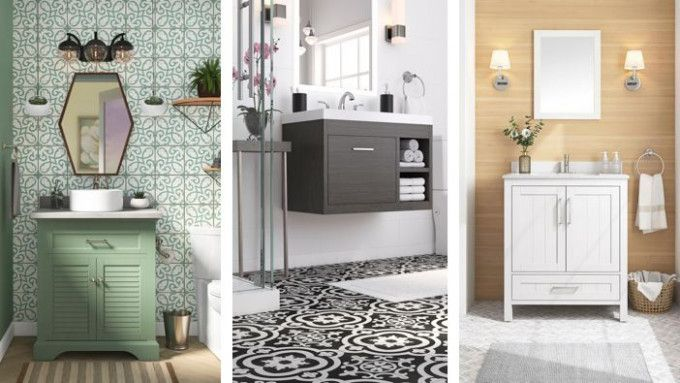 10 Lowes Bathroom Floor Ideas di 2020