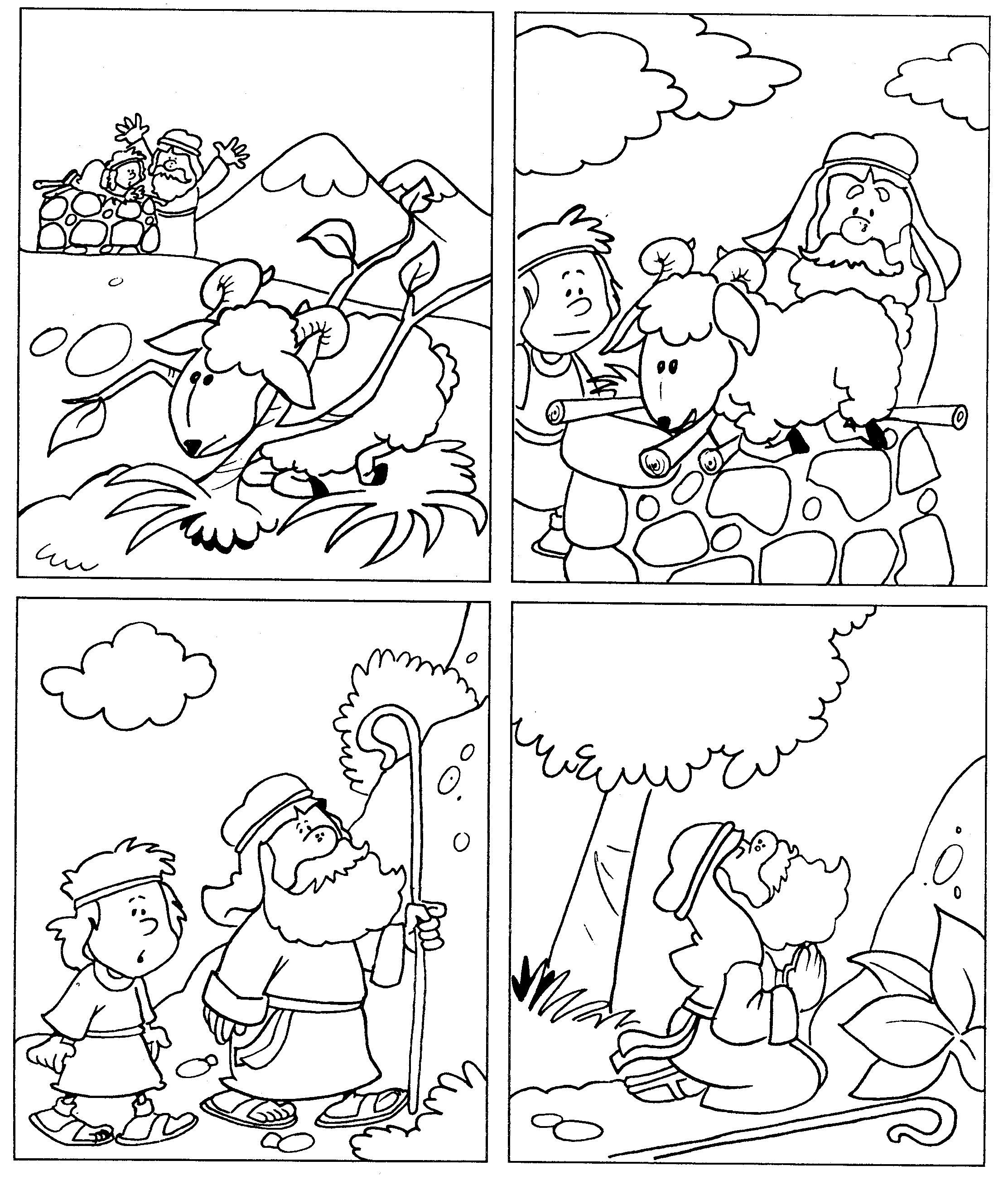Worksheets Abraham And Isaac   Printable Worksheets and Activities for  Teachers [ 2604 x 2225 Pixel ]