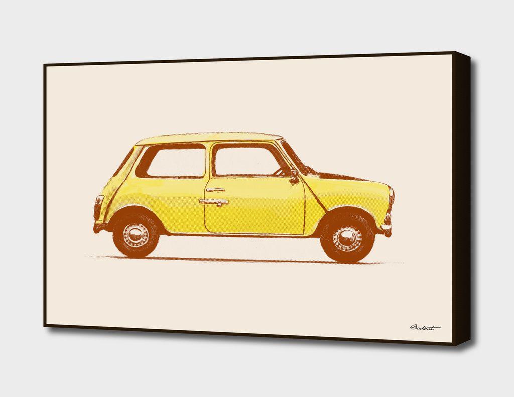 Famous Car #1 - Mr Bean\'s Mini» Art Print by Florent Bodart ...