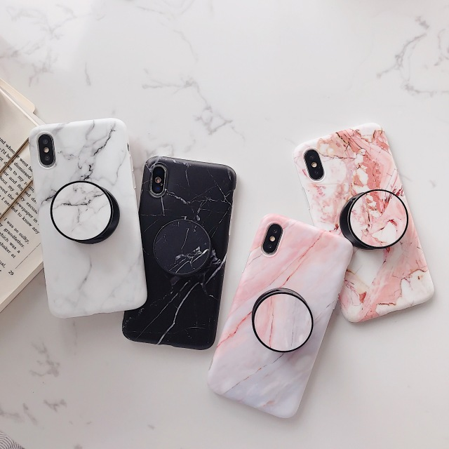 Fashion Marble Textured Phone Case for iPhone 6 6S 7 8 Plus X XS XSMax Case #marbletexture