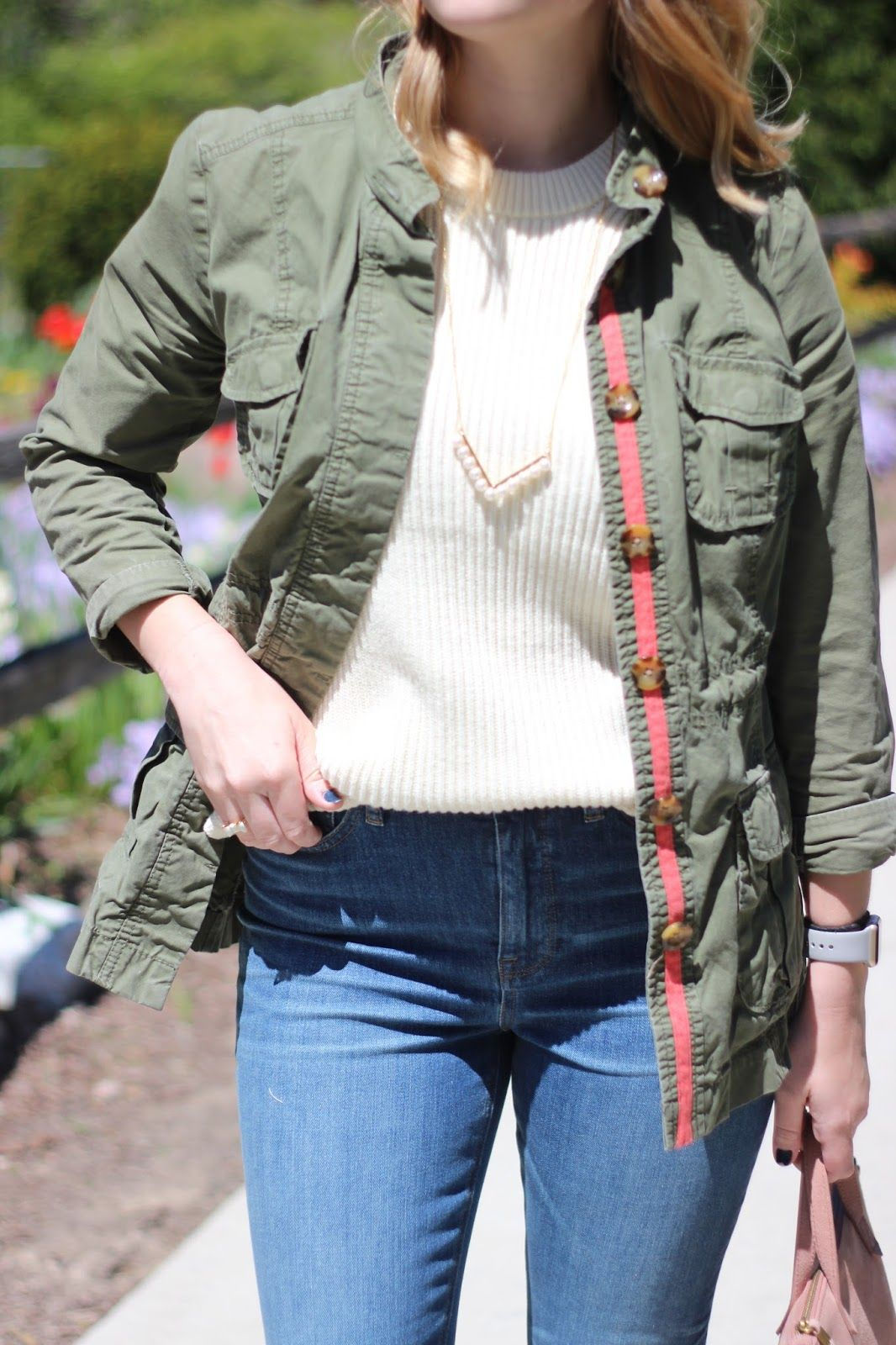 The Black Barcode: Summer Sweater Old Navy Army Jacket (similar ...