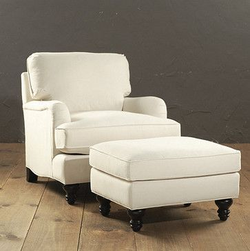 Attrayant Eton Club Chair U0026 Ottoman   Traditional   Chairs   Ballard Designs