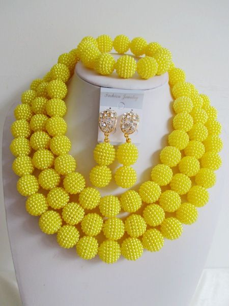 find more jewelry sets information about fashion african beads necklace set nigerian wedding african beads