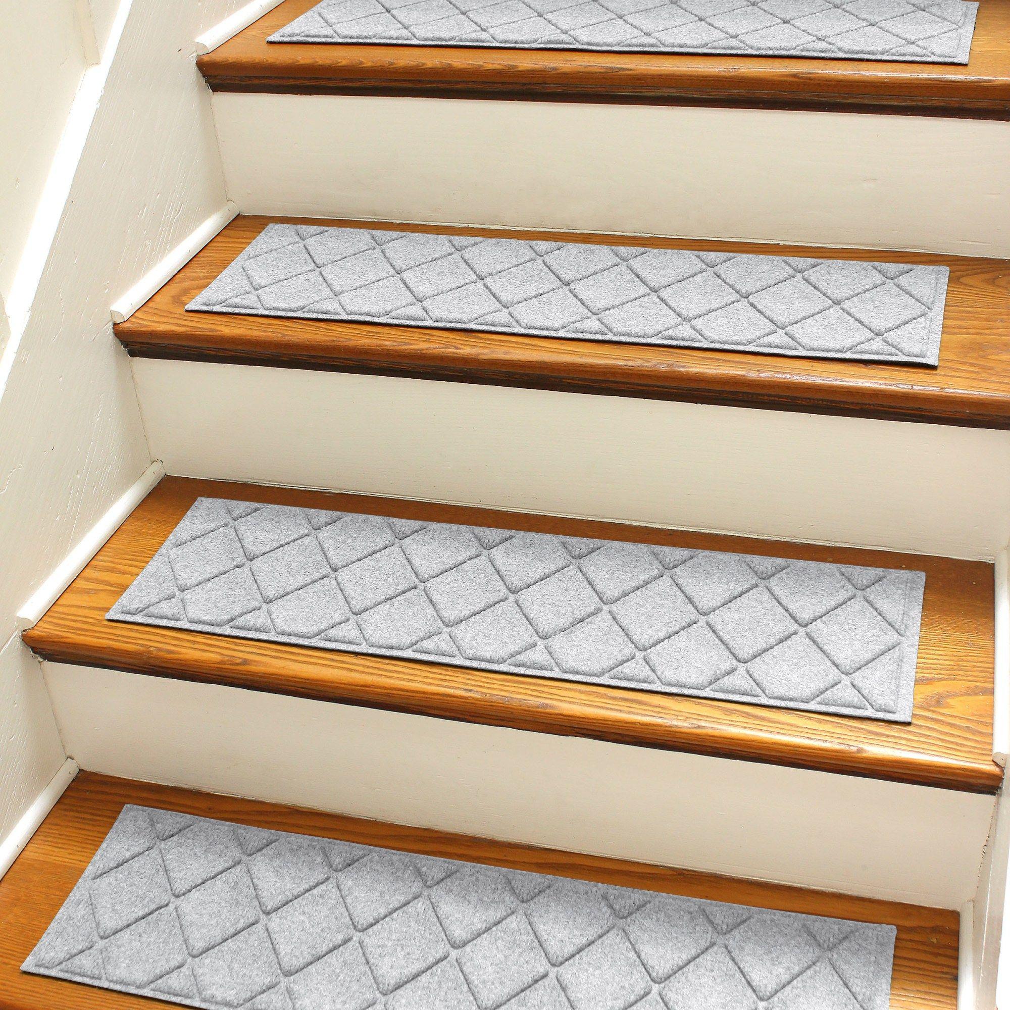 Stair Tread Set Via Wayfair Bungalow Flooring Stair Tread Rugs   Wayfair Carpet Runners For Stairs   Stair Treads   Stair Rods   Area Rug   Wool Rug   Treads Carpet