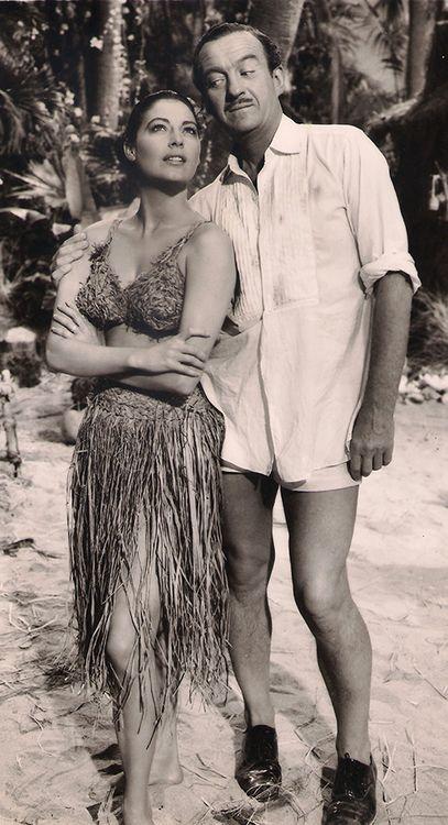 Ava Gardner and David Niven - The Little Hut